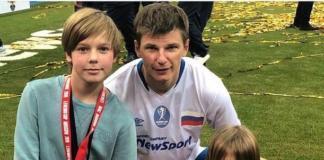 Воскресный папа: Андрей Аршавин провел выходные с детьми