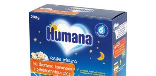 Чем полезны молочные каши Humana?