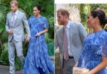 Герцоги Сассекские посетили прием в резиденции короля Марокко Мухаммеда VI