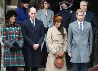 Принц Уильям с женой первый раз навестил принца Гарри и беременную Меган Маркл в новом доме