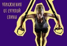 Какие шесть упражнения помогут избавиться от сутулой спины + видео