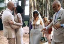 Верка Сердючка устроила яркий перфоманс на свадьбе Потапа и Насти
