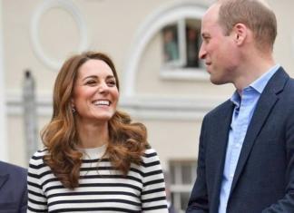 Кейт Миддлтон и принц Уильям впервые заговорили о малыше Меган и Гарри