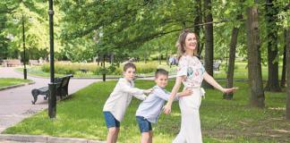 Екатерина Директоренко: «Бывший муж поблагодарил за сыновей»