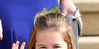 Принцесса Шарлотта не дает маме заплетать ей косички