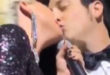 Гага опять целуется с женатым мужчиной