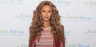 63-летняя модель Иман снялась топлес для обложки журнала