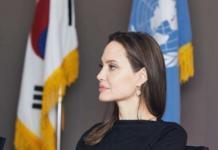 Анджелина Джоли как посол доброй воли ООН сделала визит в Венесуэлу (ФОТО)