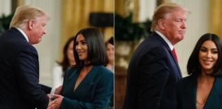 Ким Кардашьян выступила с речью в Белом доме (ФОТО+ВИДЕО)
