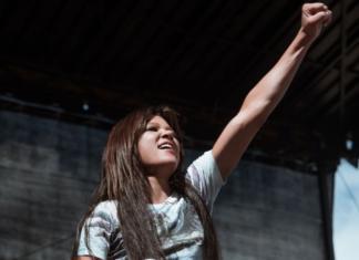 Певица Руслана впервые от Украины выступила на Fridays For Future (ФОТО)