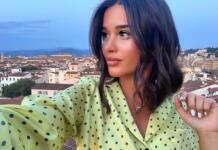 Бородина отдыхает на Капри без мужа и детей