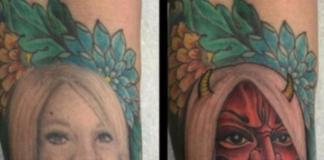Как корректировать татуировки?