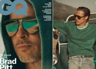 """55-летний Брэд Питт появился на обложке GQ в брутальной фотосессии в духе """"старого Голливуда"""" (ФОТО)"""