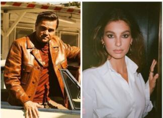 Леонардо Ди Каприо и Камила Морроне поужинали с отцом актера в ресторане