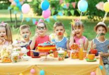 Как организовать день рождения ребенку