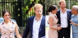 Герцоги Сассекские встретились с вдовой Нельсона Манделы (ФОТО+ВИДЕО)