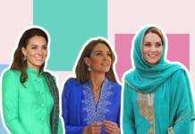 Лучшие образы Кейт Миддлтон в туре по Пакистану (ФОТО)