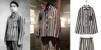 Пришлось извиниться: бренд Loewe выпустил костюм в виде формы узников концлагерей (ФОТО)