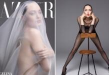 Она вернулась! Дерзкая и уверенная Анджелина Джоли появилась на обложке Harper's Bazaar (ФОТО)