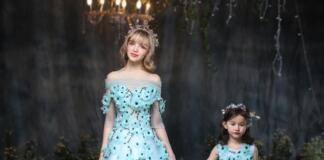 Как выбирать одинаковые платья маме и дочке?