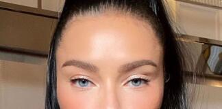 Адриана Лима с ярким макияжем учит девушек естественности