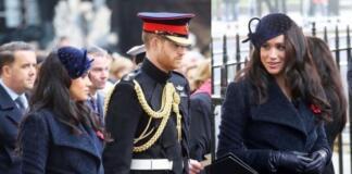 Меган Маркл и принц Гарри появились на Поле Памяти в Вестминстерском аббатстве