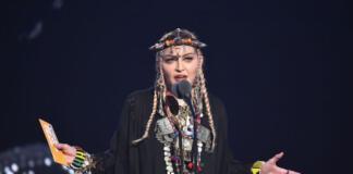 В кружевном белье: Мадонна показала, как готовится к выступлениям