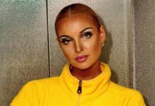 Подписчики приняли модный макияж Волочковой за синяки