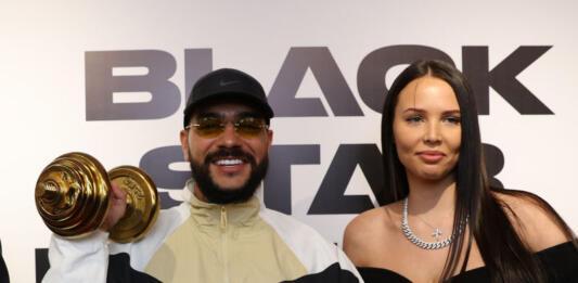 Клава Кока, Мот, Валерия и другие звезды на открытии Black Star Fitness
