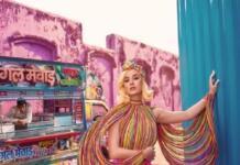"""Кэти Перри примеряла роскошные """"конфетные"""" образы для Vogue India (ФОТО)"""