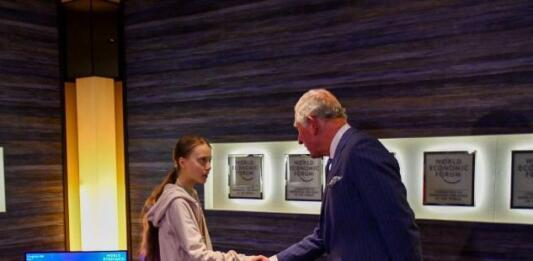 Принц Чарльз пообщался с экоактивисткой Гретой Тунберг в Давосе и нарвался на критику в Сети