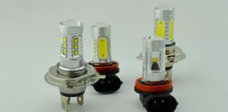 Найпопулярніші світлодіодні лампочки для автомобіля